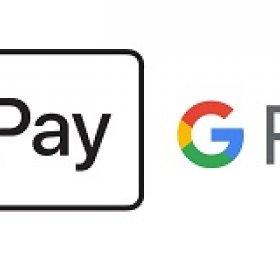 Оплата через Apple Pay и Google Pay
